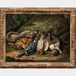John A. Woodside (Pennsylvania, 1781-1852)      Still Life with Game