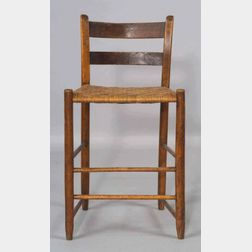 Shaker Maple Low-back Side Chair