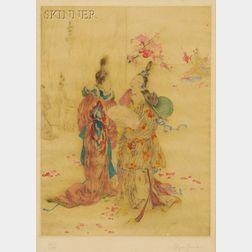 Elyse Ashe Lord (British, 1900-1971)      Springtime at Loyang