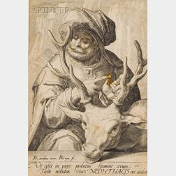 Jacob de Gheyn II (Dutch, 1565-1629), After Karel van Mander I (Dutch, 1548-1606)  Lot of Nine Plates...