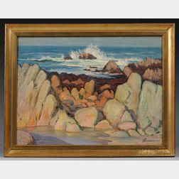 Charles M. Lesaar (American, 1884-1941)      Central Coast, California.