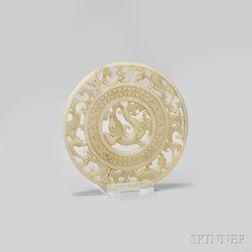 Nephrite Jade Bi   Disc
