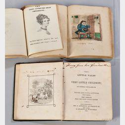 Children's Books, American, 19th Century, Three Volumes.