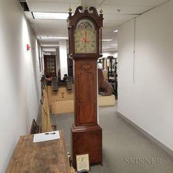 Jacob Eby Reproduction Mahogany Tall Clock