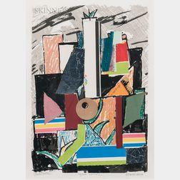 Marcel Janco (Israeli, 1895-1984)      Architecture