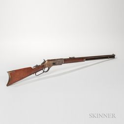 Ulrich Engraved Winchester Model 1876 Rifle