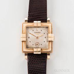 Longines 14kt Gold Manual-wind Wristwatch