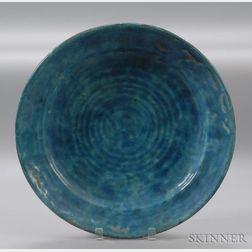 Leon Volkmar Durant Kilns Glazed Art Pottery Platter