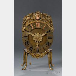 Hour-Striking Bedside Table Clock