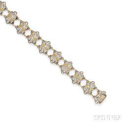 Arts & Crafts Silver Bracelet, Frank Gardner Hale