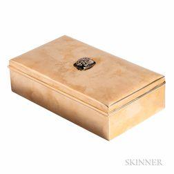 14kt Gold Cigar Box, Cartier
