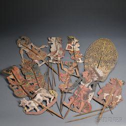 Ten Shadow Puppets, Wayang Kulit