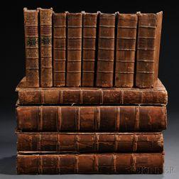Classics, Greek, 18th Century, Twelve Volumes: