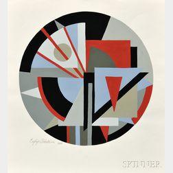 Esphyr Slobodkina (Russian/American, 1908-2002)      Untitled