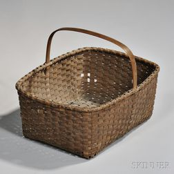 Ash Splint Laundry Basket