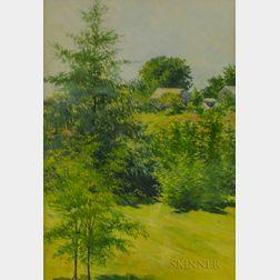 Philip Little (American, 1857-1942)      Spring Landscape