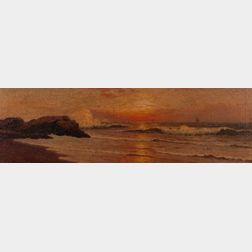 Richard Dey De Ribcowsky (Russian/American, 1880-1936)      Rolling Surf