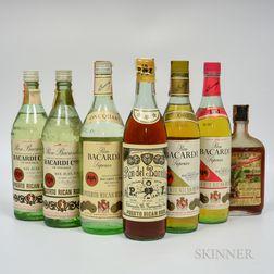 Mixed Rum, 1 quart bottle 2 4/5 quart bottles 3 750 ml bottles 1 4/5 pint bottle