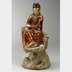 Lacquered Buddha