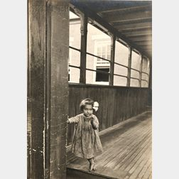 Lewis Wickes Hine (American, 1874-1940)      Little Orphan Annie in a Pittsburgh Institution