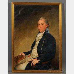 After Gilbert Stuart (Massachusetts/England, 1755-1828)      Portrait of Prosperous Plantation Owner, John Campbell (c. 1756-1817).