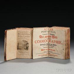 Gregorii, Johann Gottfried (1685-1770) Atlas Portatilis, oder Compendieuse Vorstellung Der Gantzen Welt: in einer kleinen Cosmographie.