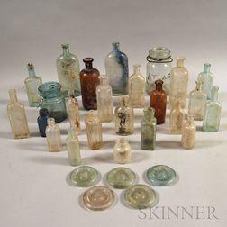 Group of Glass Bottles