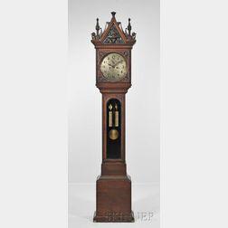 """E. Howard & Co. No. 77 Mahogany """"Hall"""" Clock"""