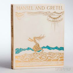 Grimm, Jacob (1785-1863) & Wilhelm (1786-1859) Hansel and Gretel and Other Stories,   Illustrated and Signed by Kay Nielsen.