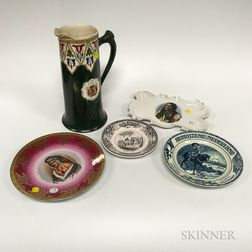 Group of Decorative Ceramic Items