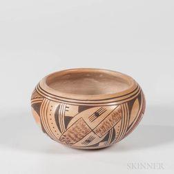 Contemporary Polychrome Hopi Pot