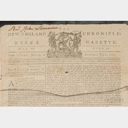 (Revolutionary War Periodical, New England)