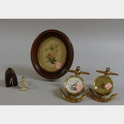 Four Assorted Decorative Items