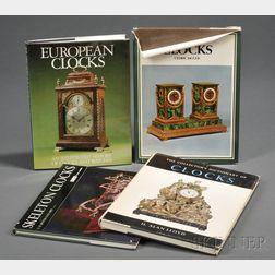 Four Titles on Antique Clocks