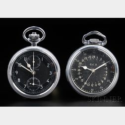 Two Hamilton 16 Size Chronometer Watches