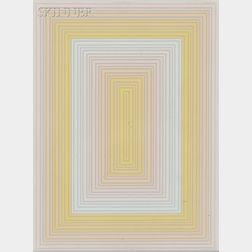Richard Anuszkiewicz (American, b. 1930)      Untitled.