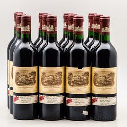 Chateau Lafite Rothschild 1986, 12 bottles