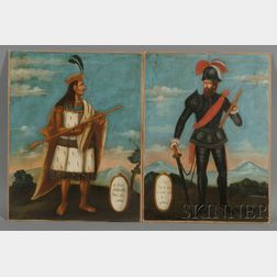 Two Peruvian Colonial Paintings