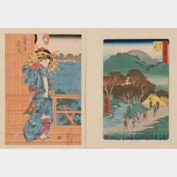 Two Japanese Prints: