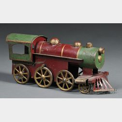 Pressed Steel Toy Locomotive