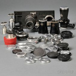 Lot of Leica Attachments.