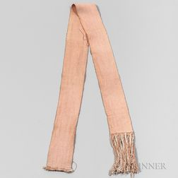 Cotton Fabric Sash