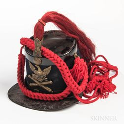 U.S. Model 1864 Light Artillery Shako