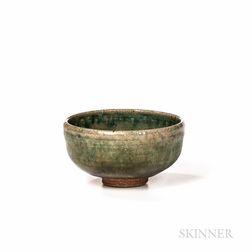 Studio Pottery Tea Bowl Attributed to Warren MacKenzie