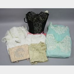 Group of Vintage to Modern Lingerie