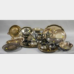 Group of Silver Plated Tableware
