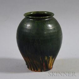 Green Glazed Vase