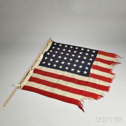 Unites States Forty-eight-star Naval Flag