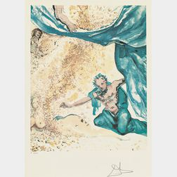 Salvador Dalí (Spanish, 1904-1989)      Les Amoureux  /Portfolio of Three Prints
