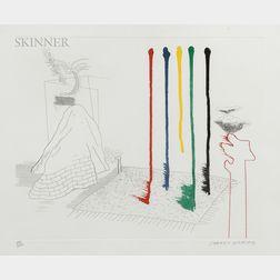 David Hockney (British, b. 1937)      I Say They Are